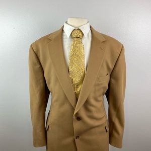 Jos A Bank Men's 100% Cashmere Sport Coat Sz 52 R